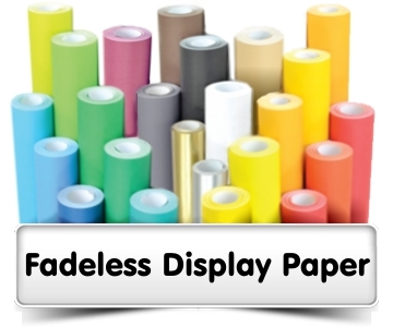 Fadeless Display Paper